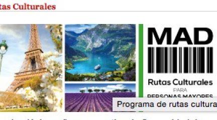 Los mayores ya pueden participar en las Rutas Culturales de la Comunidad de Madrid