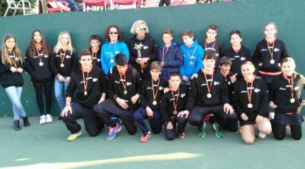 El Club Élite Tenis de Galapagar se proclama campeón de la Liga Juvenil de Madrid
