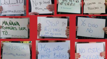 """""""Tú tienes un papel contra el bullying"""", nueva campaña en Guadarrama contra el acoso escolar"""
