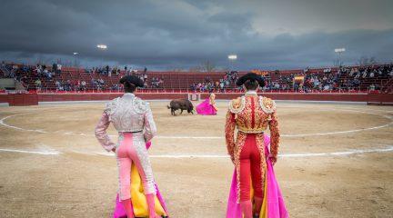 Ignacio Andrés Grassano y Marisa de La Torre, ganadores del Concurso de Fotografía Taurina de Guadarrama