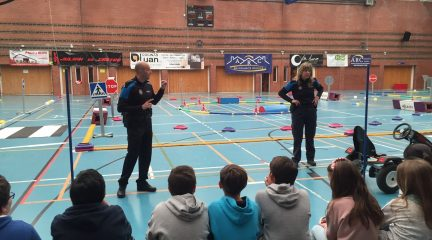 Gran éxito de los cursos de Educación Vial impartidos por el Ayuntamiento a los escolares de Colmenarejo