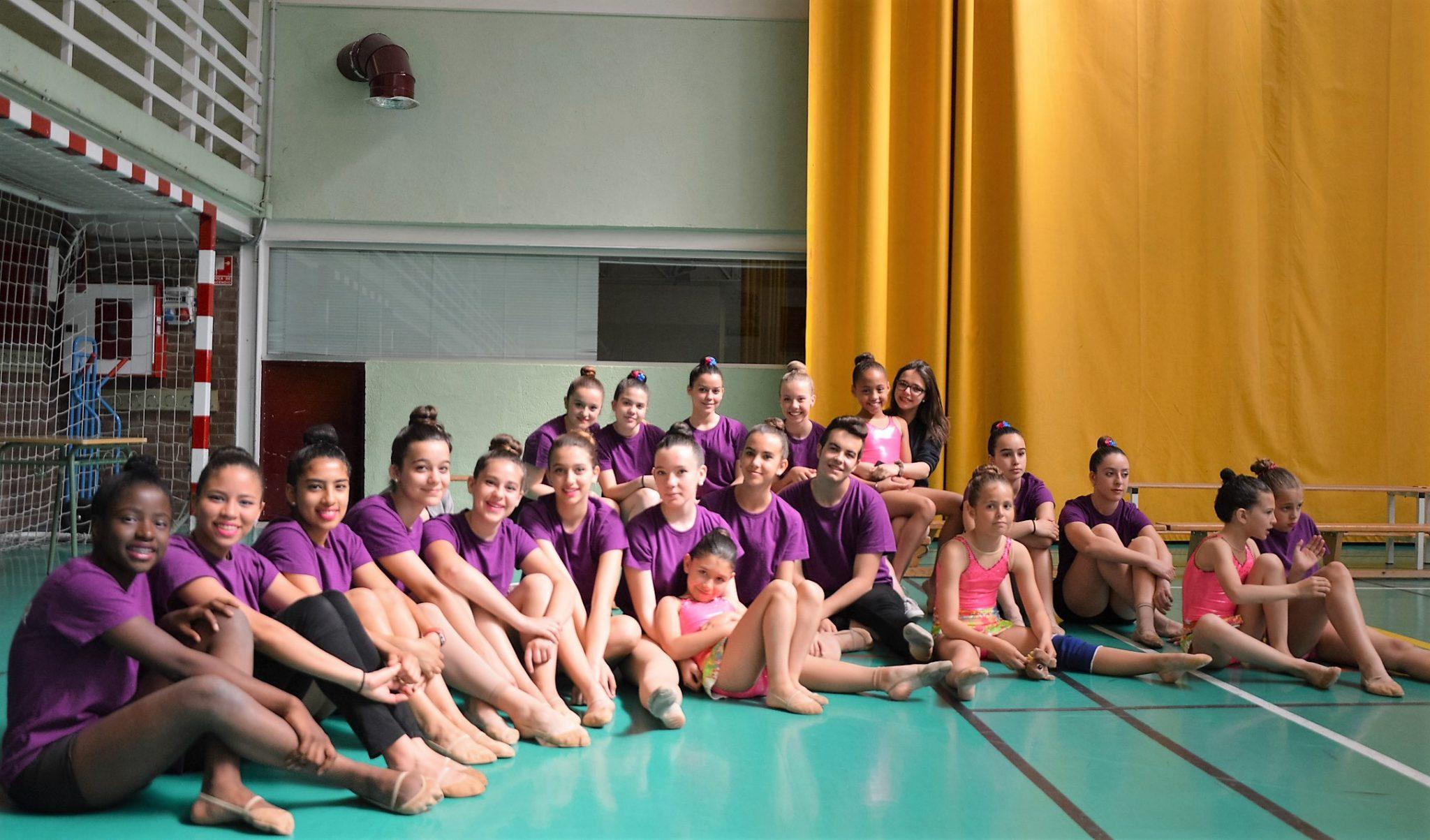 El club de gimnasia r tmica de galapagar despide el curso for Club gimnasio
