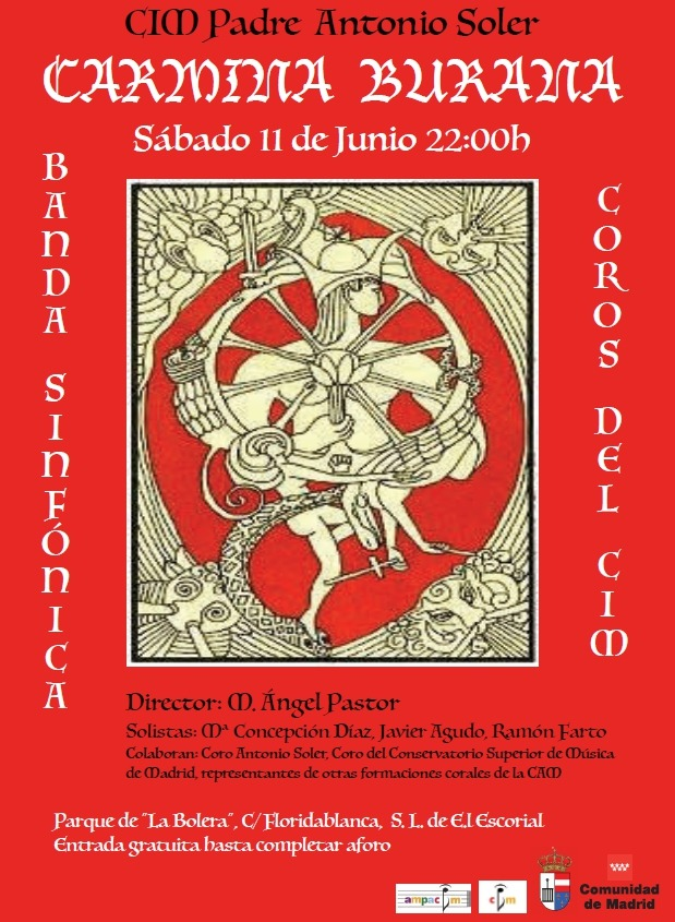 El cim padre antonio soler interpreta carmina burana este s bado en san lorenzo de el escorial - Ramon soler madrid ...