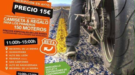 Concentración motera este sábado, 6 de agosto, en Becerril de la Sierra