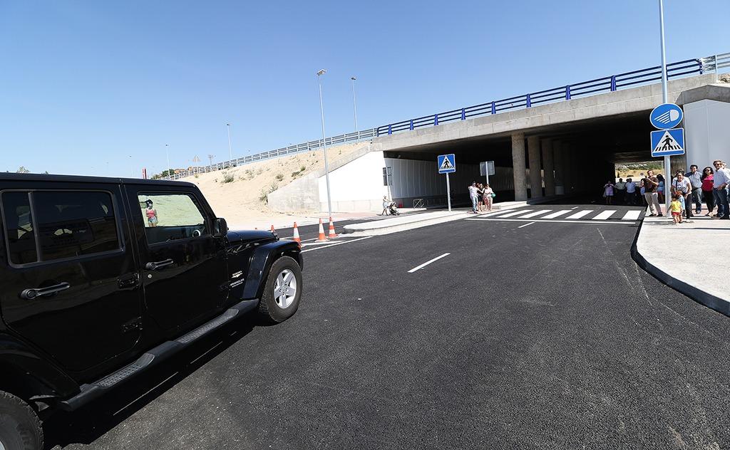 apertura tunel torre 3