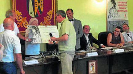 Miguel Ángel Cáliz, premio Martín Gaite, de El Boalo, con una obra sobre la felicidad