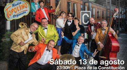 Topolino Radio Orquesta actuará en Torrelodones