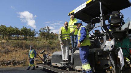 La Comunidad mejora 11,4 kilómetros de la carretera M-601 en el Puerto de Navacerrada