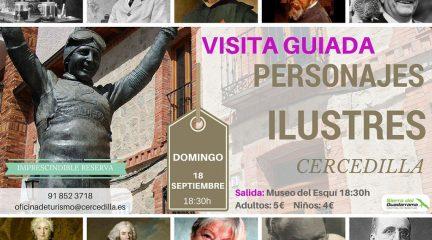 Personajes ilustres y la Fábrica de la Luz centran las visitas guiadas que organiza la Oficina de Turismo de Cercedilla