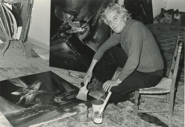El pintor español Manuel Viola