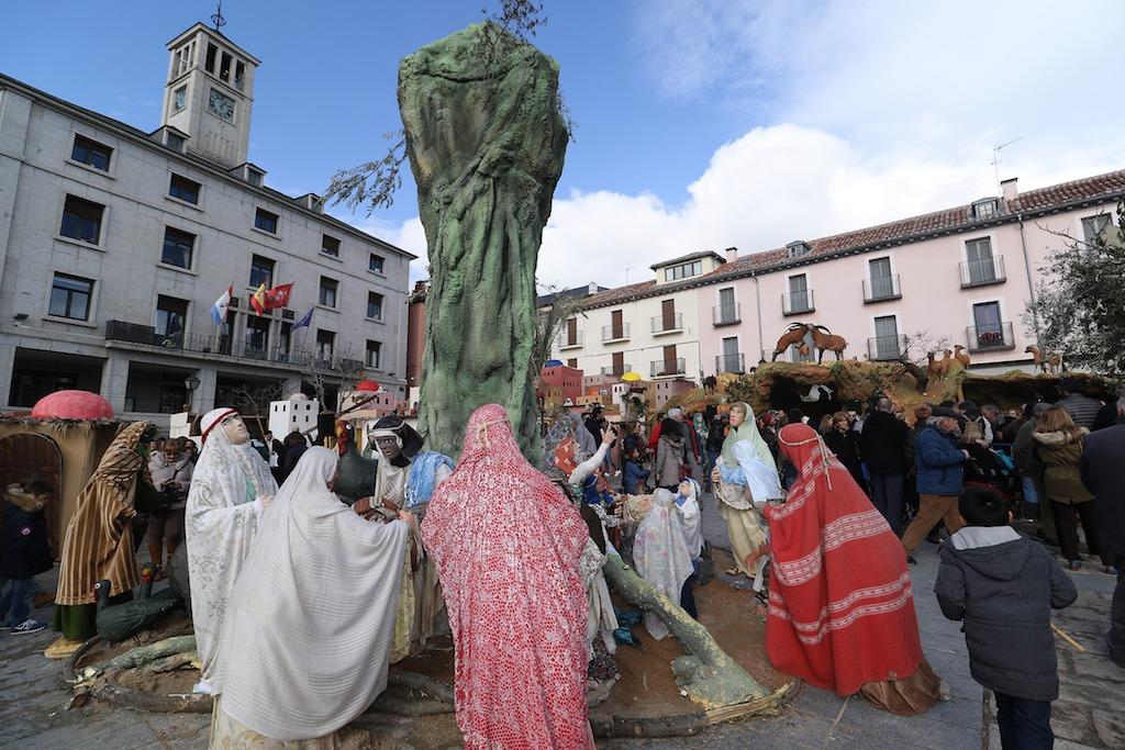 6cc54af08fe El Belén Monumental llega un año más a las calles y plazas de San ...