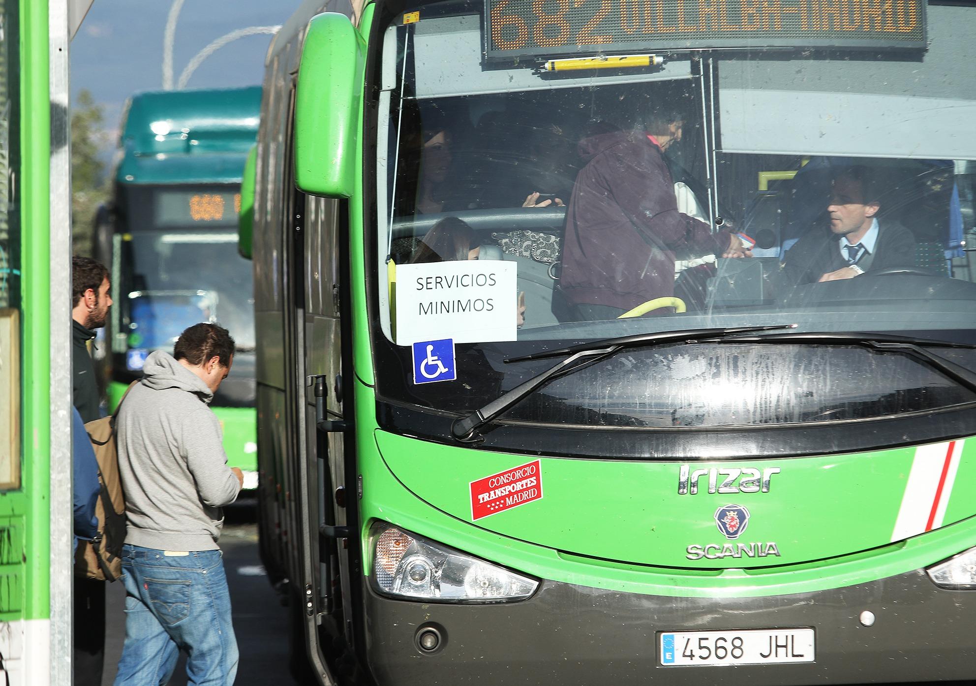 huelga autobuses 5
