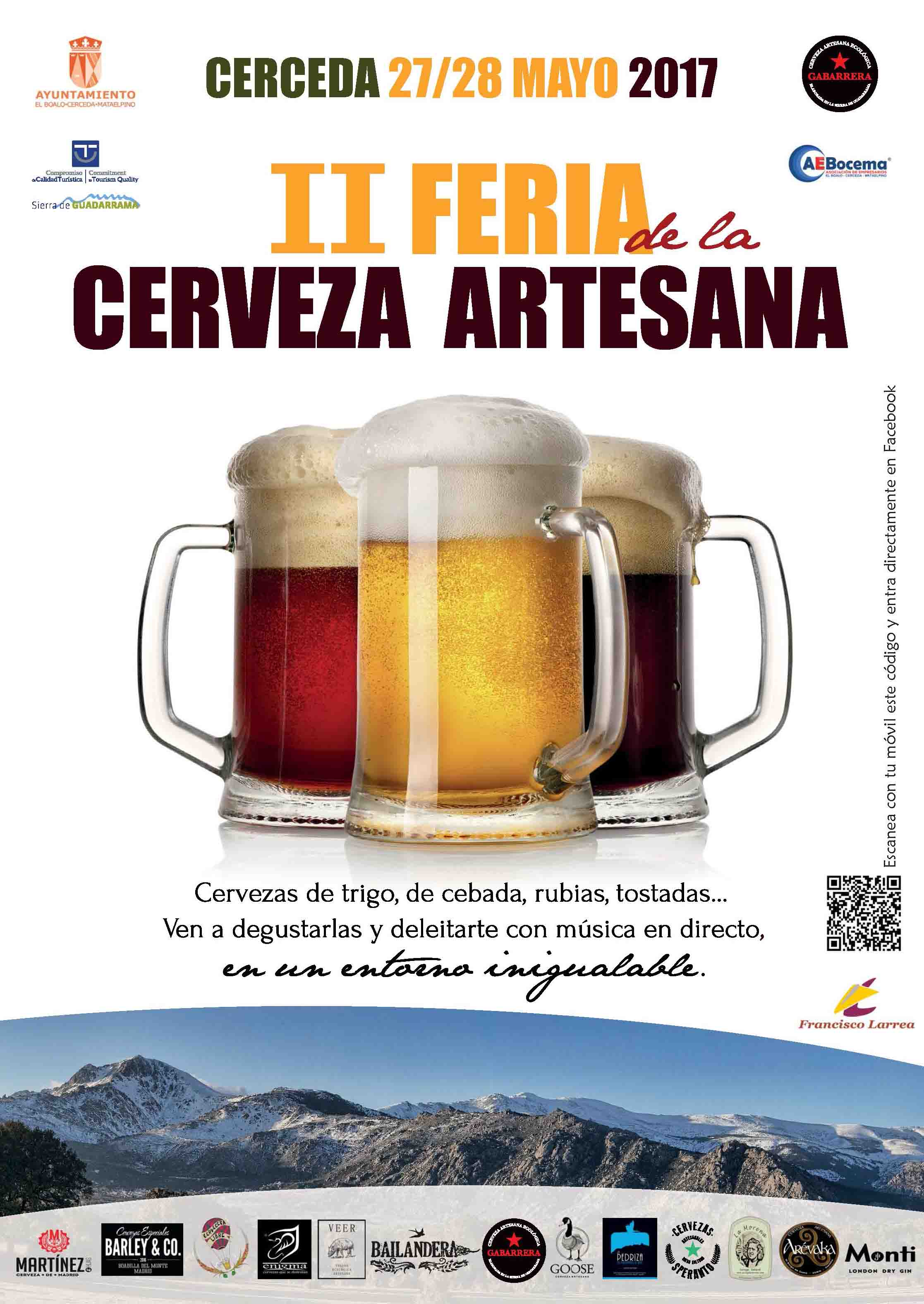 II Feria de la Cerveza Artesana de Cerceda