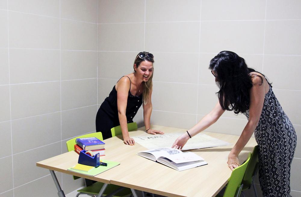 visita sala trabajo para grupos