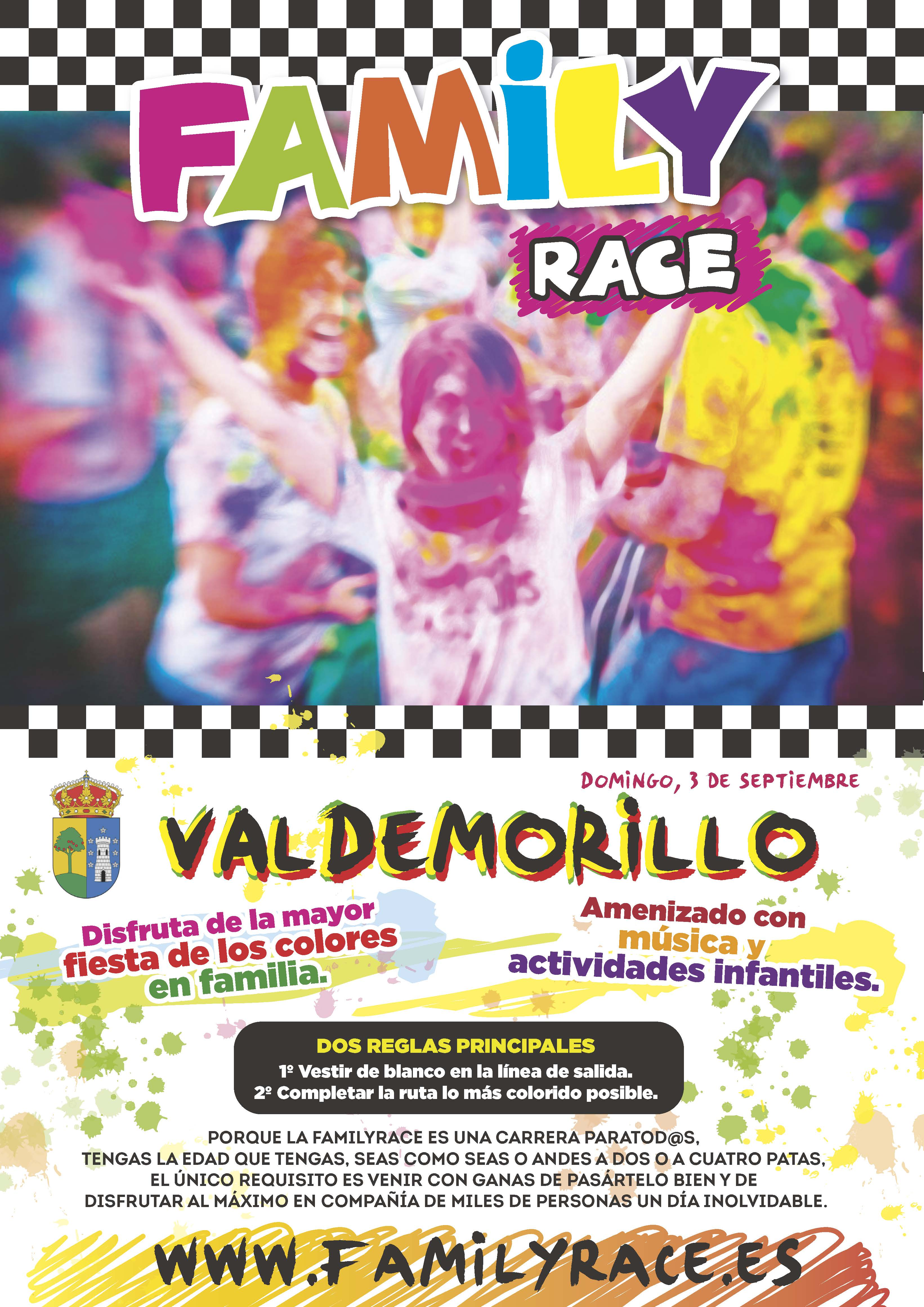 Cartel Family Race Valdemorillo