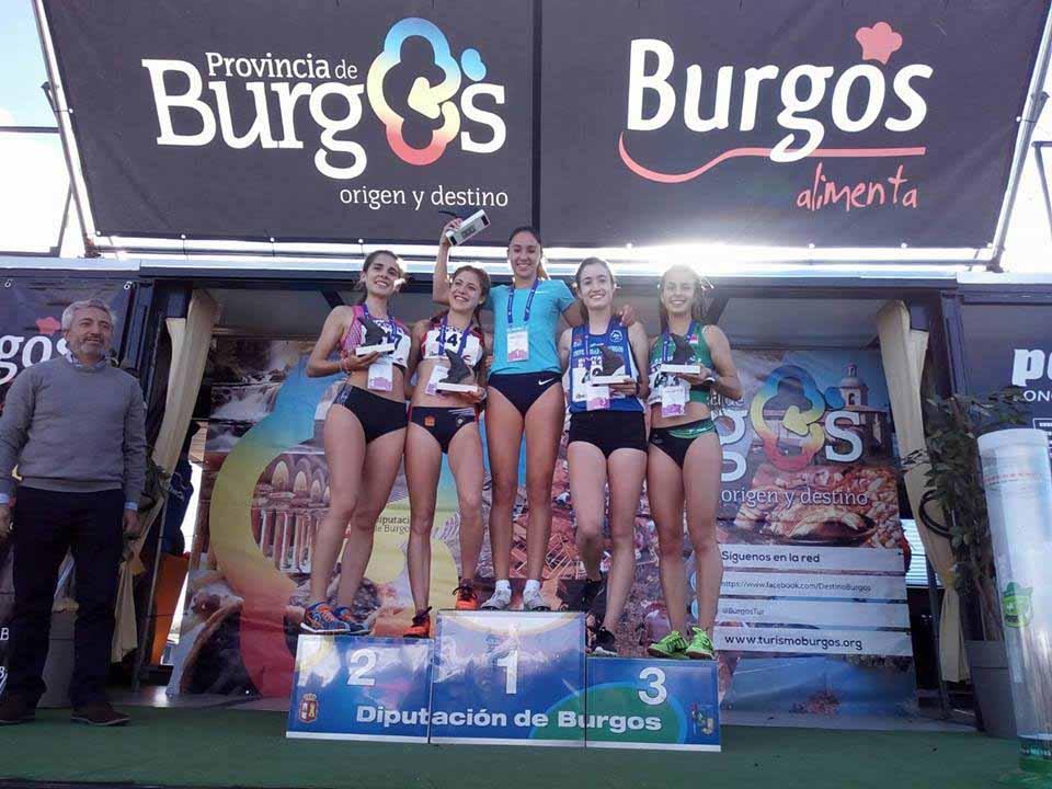 LUCÍA RODRÍGUEZ campeona 2017 Atapuerca
