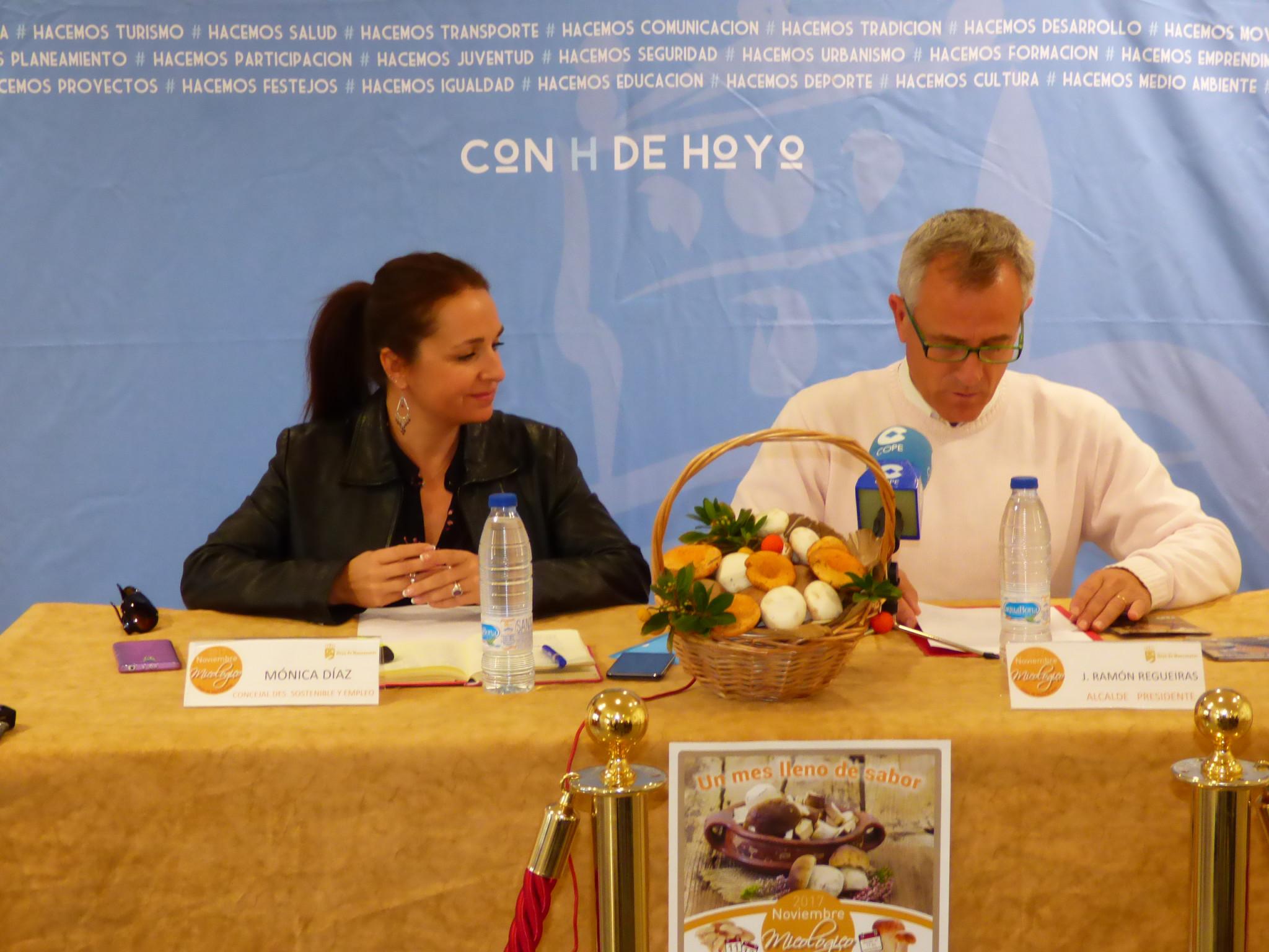 Micolog a y gastronom a se dan cita en hoyo de manzanares for Oficina turismo cercedilla