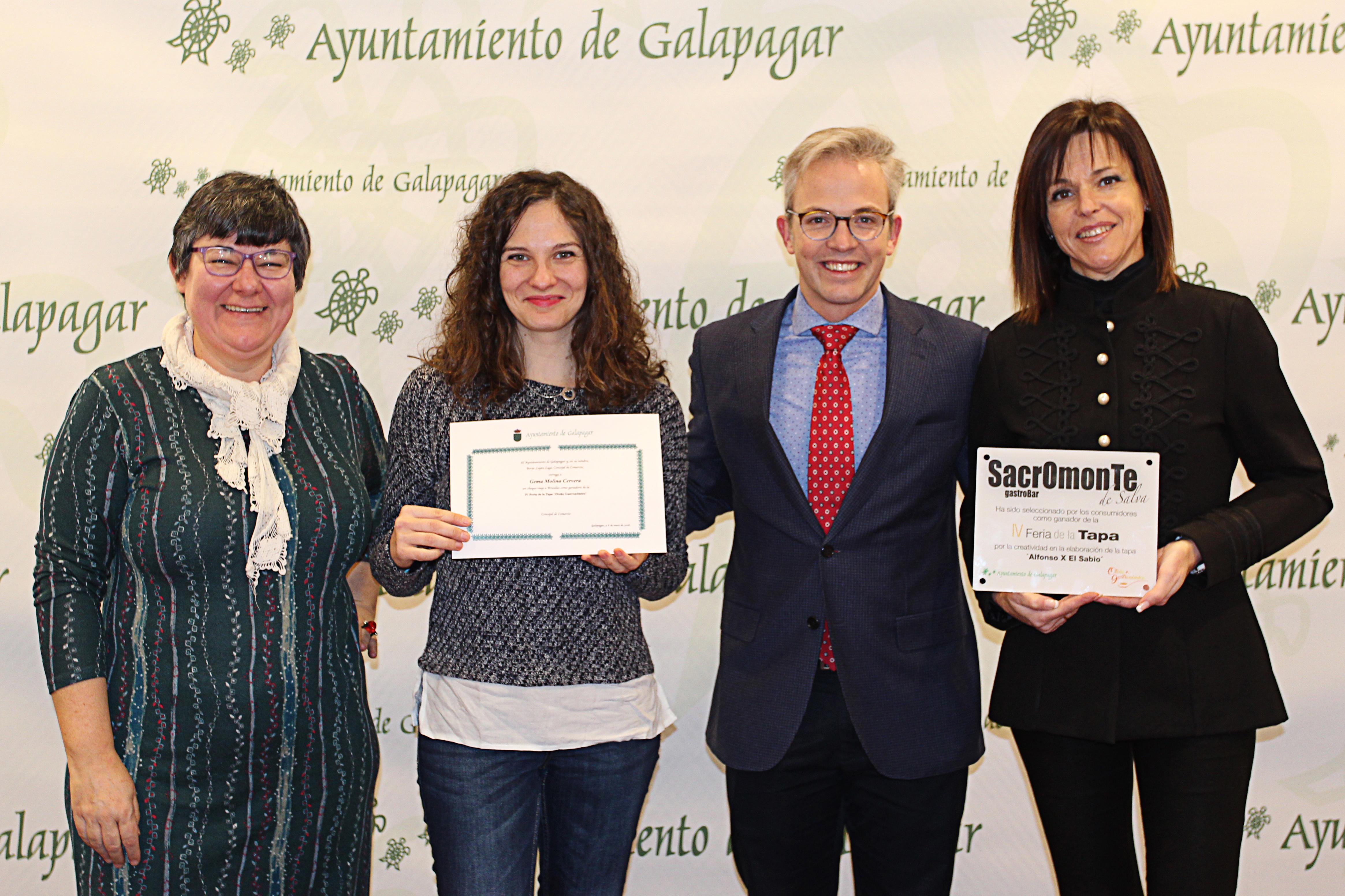 Entrega premios IV Feria de la Tapa 2