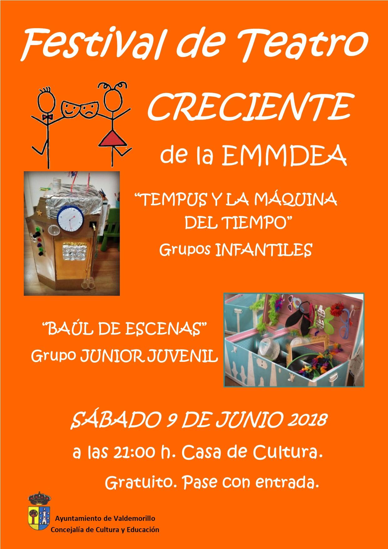 2018-06-09 CARTEL TEATRO CRECIENTE