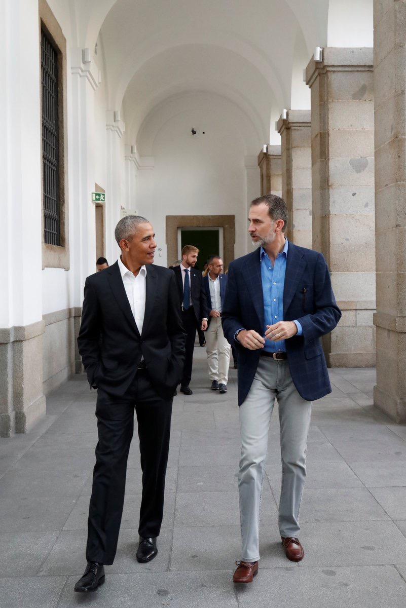 La familia obama visita el monasterio de san lorenzo de el - Vacaciones en la sierra ...