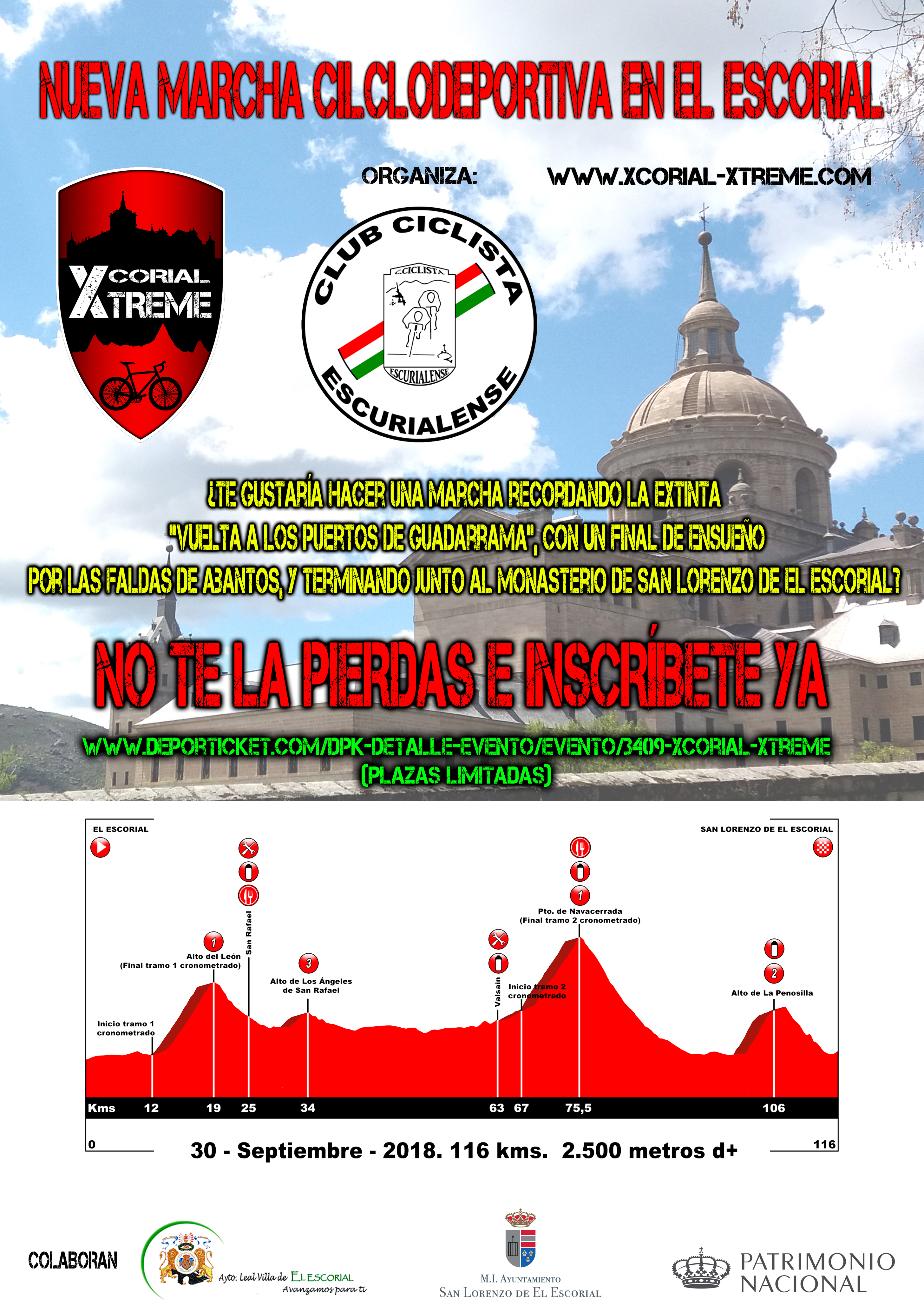 Marcha Xcorial Xtreme cartel