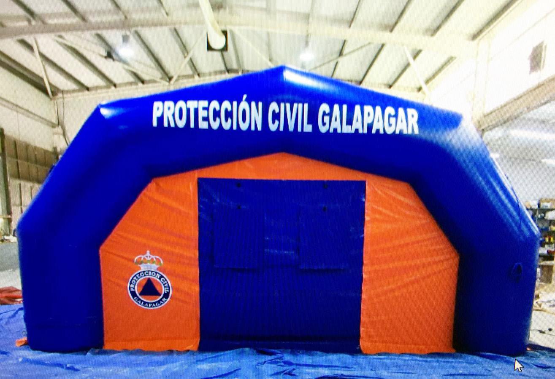 hospital de campaña Galapagar