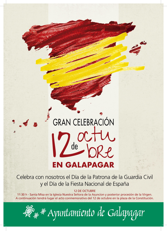 cartel galapagar 12 octubre