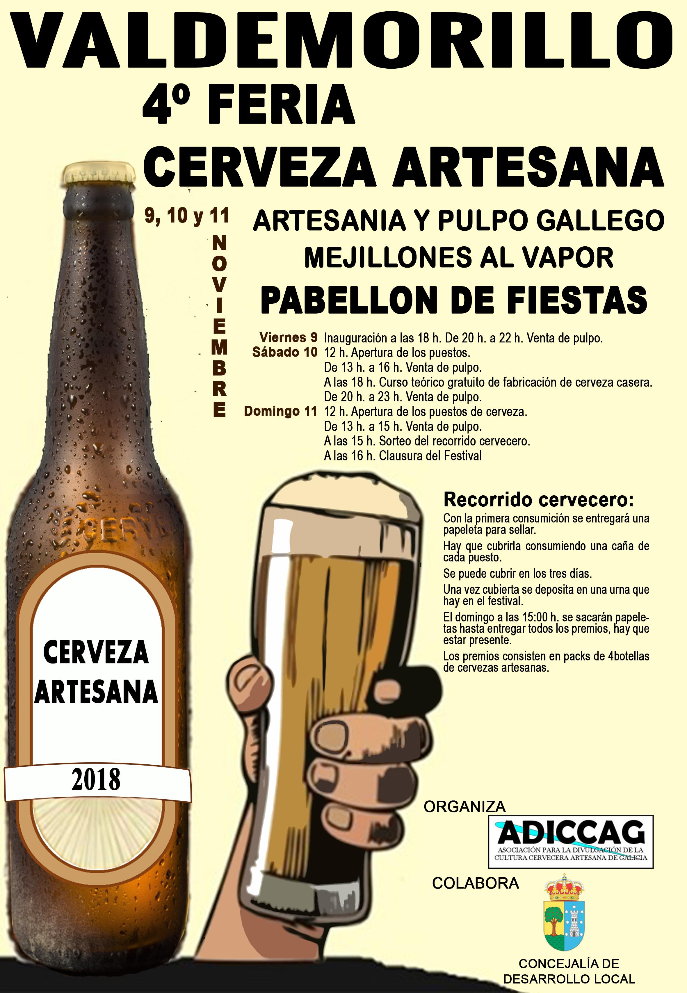 4º FERIA DE CERVEZA ARTESANA valdemorillo programa (4)