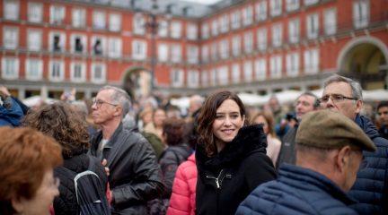 """Isabel Díaz Ayuso: """"Si la gente quiere que su voto sea útil, que no busque al PP en otras opciones"""""""