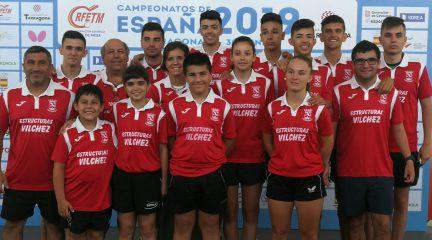 La AD Collado Mediano logra cuatro medallas en los Campeonatos de España