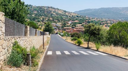 Robledo invierte 240.000 euros en el reasfaltado de varias calles de La Suiza Española