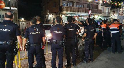 Una reyerta en las fiestas de Collado Mediano acaba con un policía herido grave tras recibir un botellazo en la cabeza