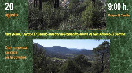 """Robledo de Chavela organiza este martes la """"Subida al Bosque"""", una ruta de senderismo como preámbulo de las fiestas"""