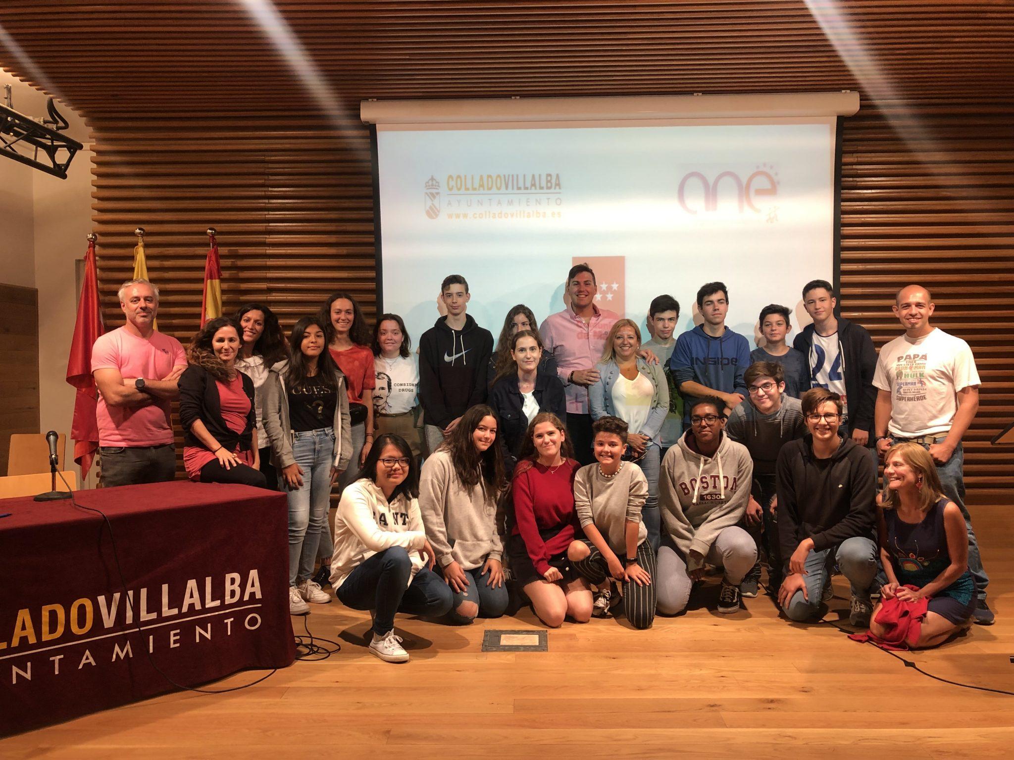Encuentro Erasmus + en Collado Villalba