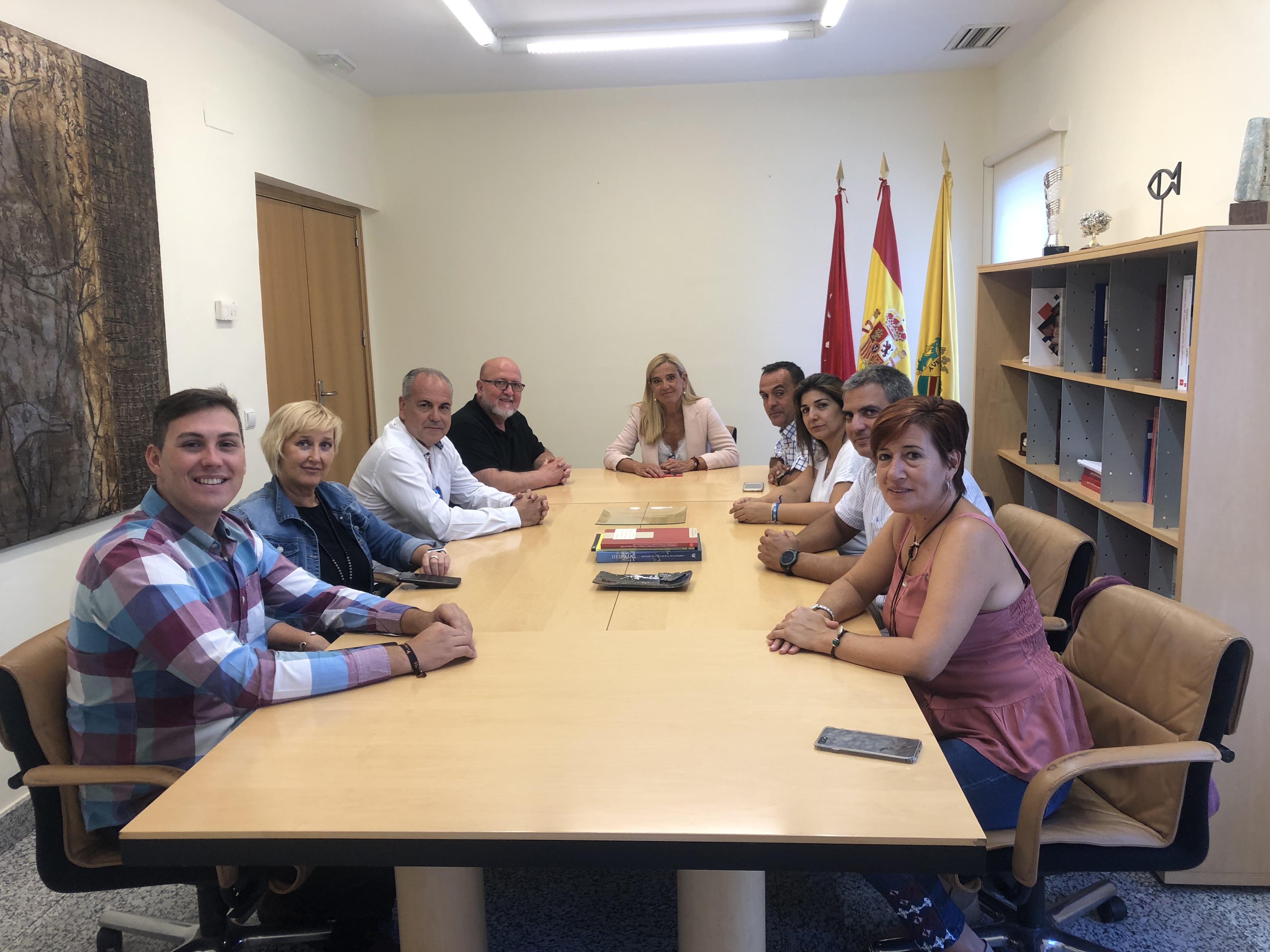 reunión UGT Villalba