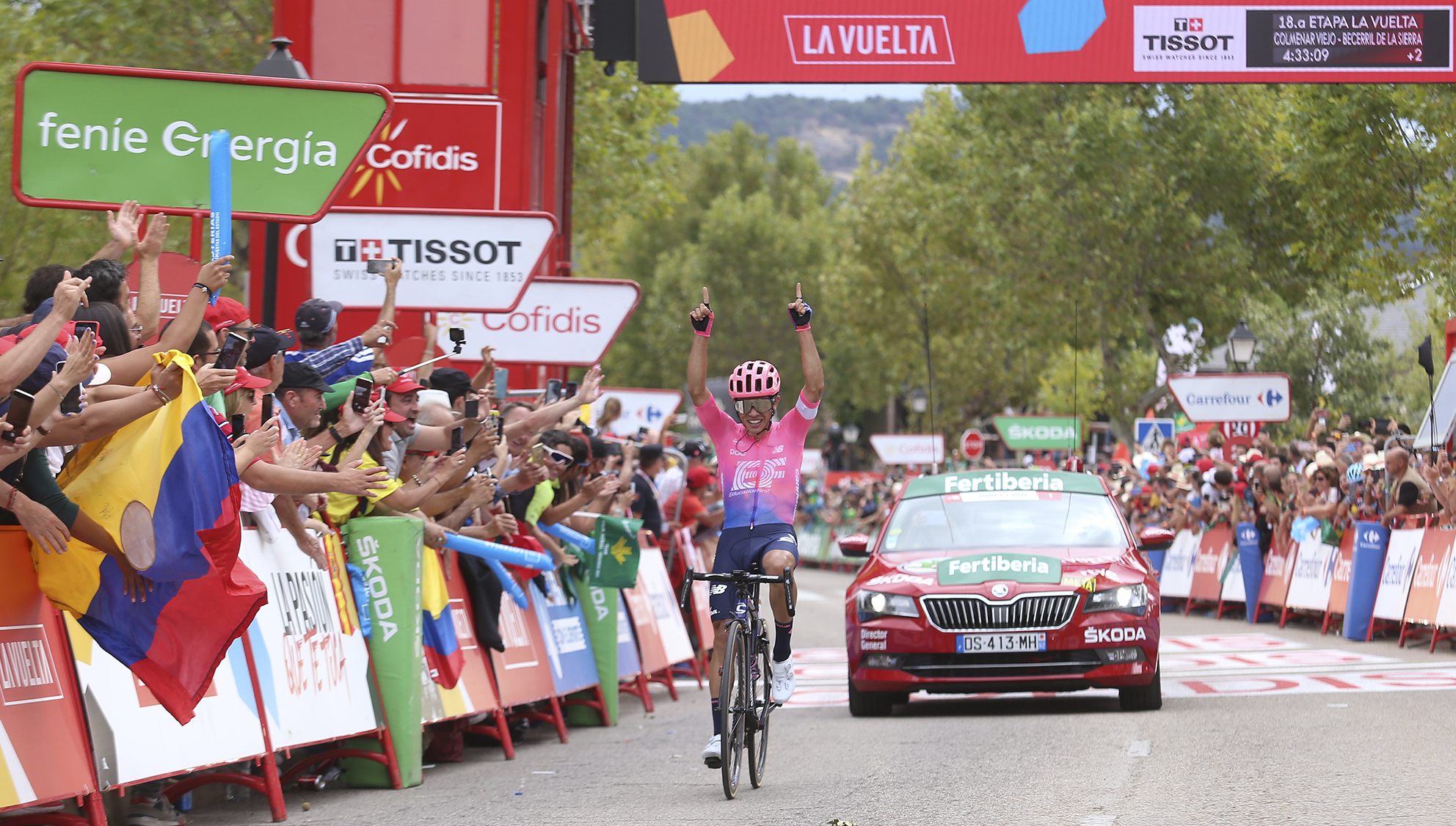 vuelta ciclista Becerril Sergio Higuita
