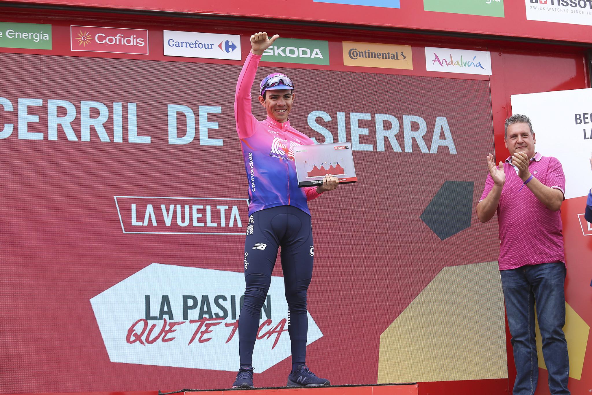 Vuelta ciclista Becerril