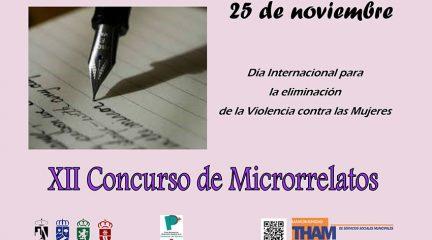 Convocado el XII Concurso de Microrrelatos de la THAM con motivo del  Día Internacional para la Eliminación de la Violencia contra las Mujeres