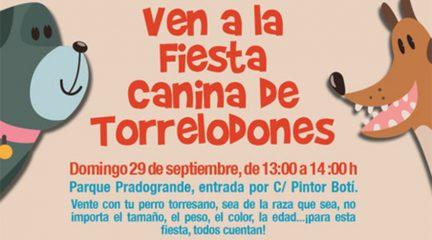 Torrelodones organiza una fiesta canina el domingo 29