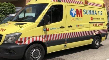 Herido muy grave un ciclista de 39 años tras un chocar con un vehículo en la subida al puerto de Navacerrada