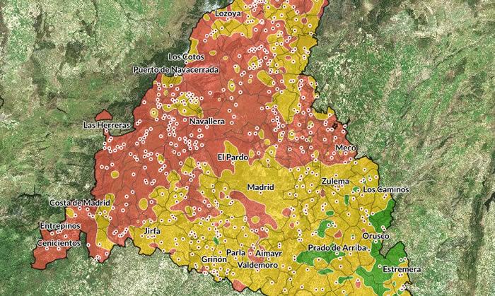 Los Niveles De Gas Radon En El Boalo Por Debajo De Lo Esperado