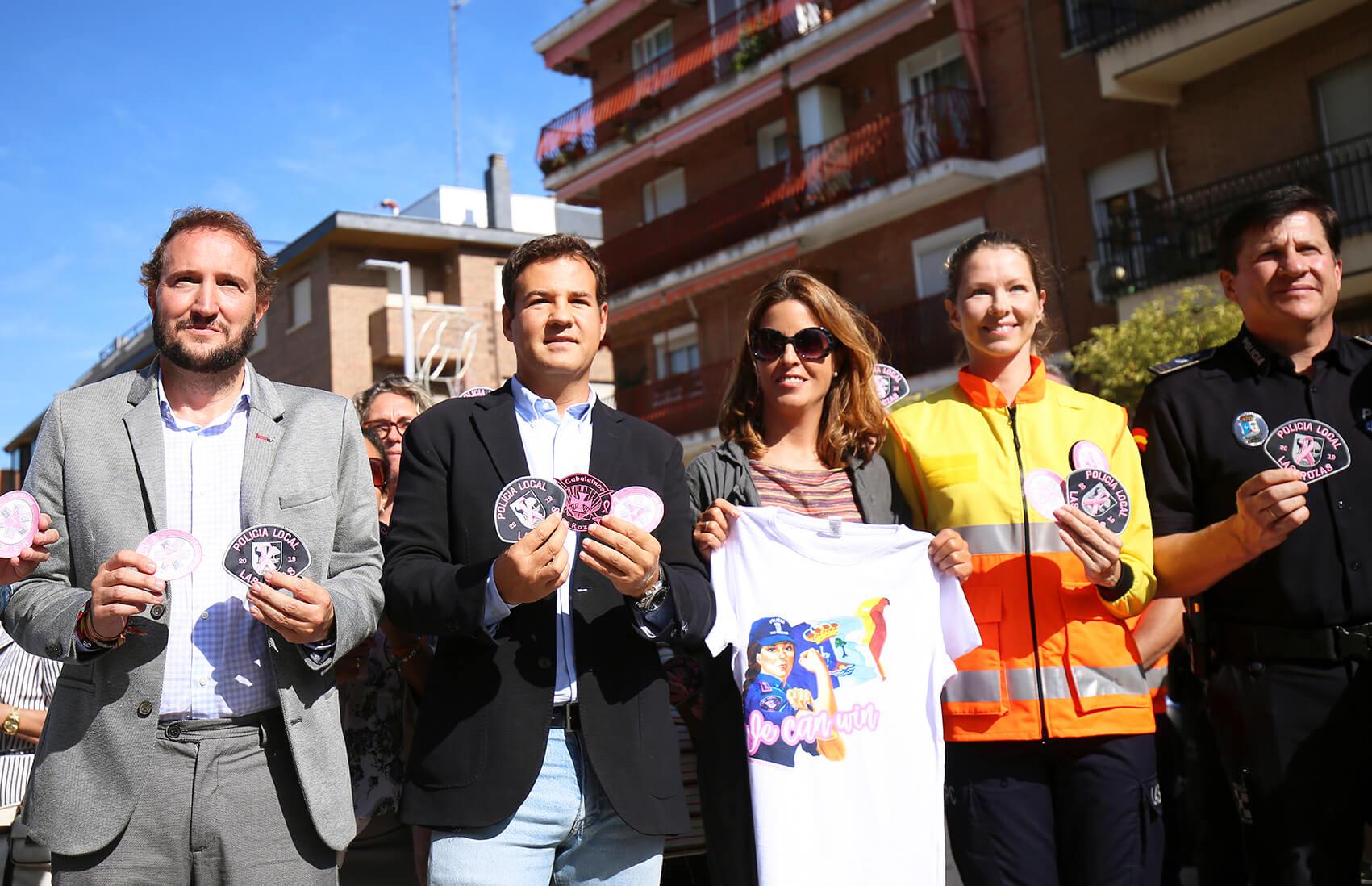 proyecto parche rosa Las Rozas