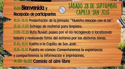 Los Molinos organiza este sábado una jornada festiva de limpieza del río Guadarrama