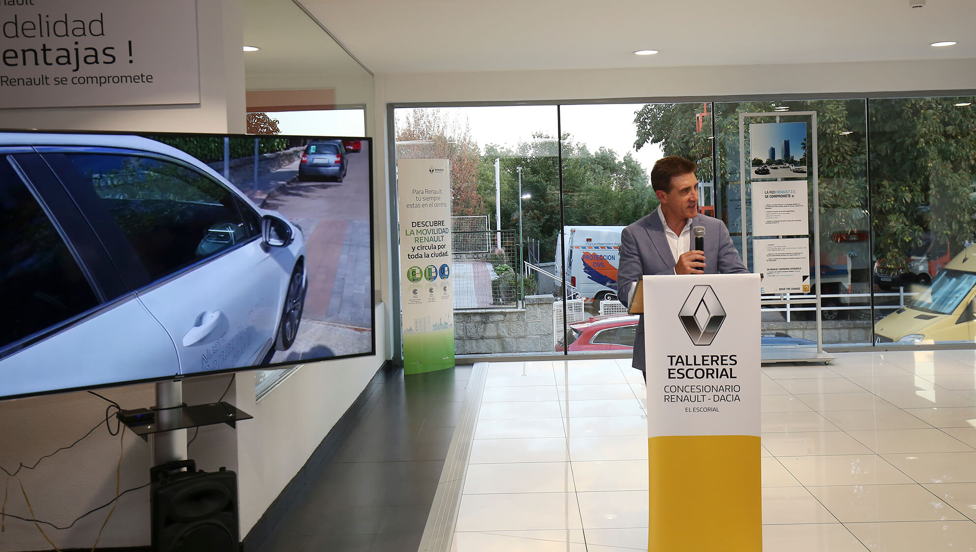 Renault Talleres Escorial