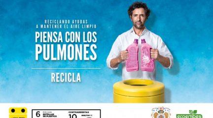 """""""Piensa con los pulmones"""": campaña para fomentar el reciclaje en El Escorial"""