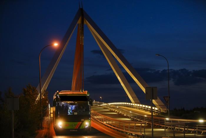 autobus nocturno las rozas
