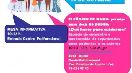 Collado Villalba organiza dos actividades con motivo del Día Mundial del Cáncer de Mama