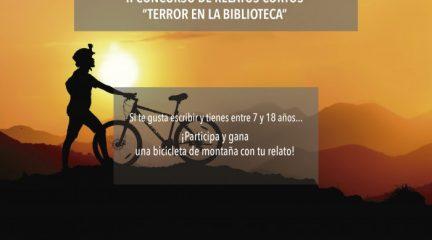 Terror en la Biblioteca de Galapagar: segundo concurso de relatos cortos dirigido a niños y jóvenes