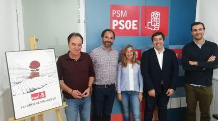 Los socialistas de Galapagar, Hoyo de Manzanares y Torrelodones se reúnen para coordinar acciones políticas en común