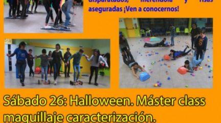 Una master class de maquillaje de Halloween, el sábado 26 en la Noche Joven de Alpedrete